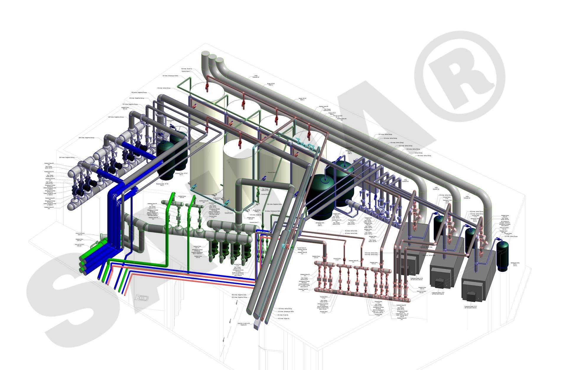 Revit Mep (Mekanik ve elektirk) Eğitim ve danışmanlık