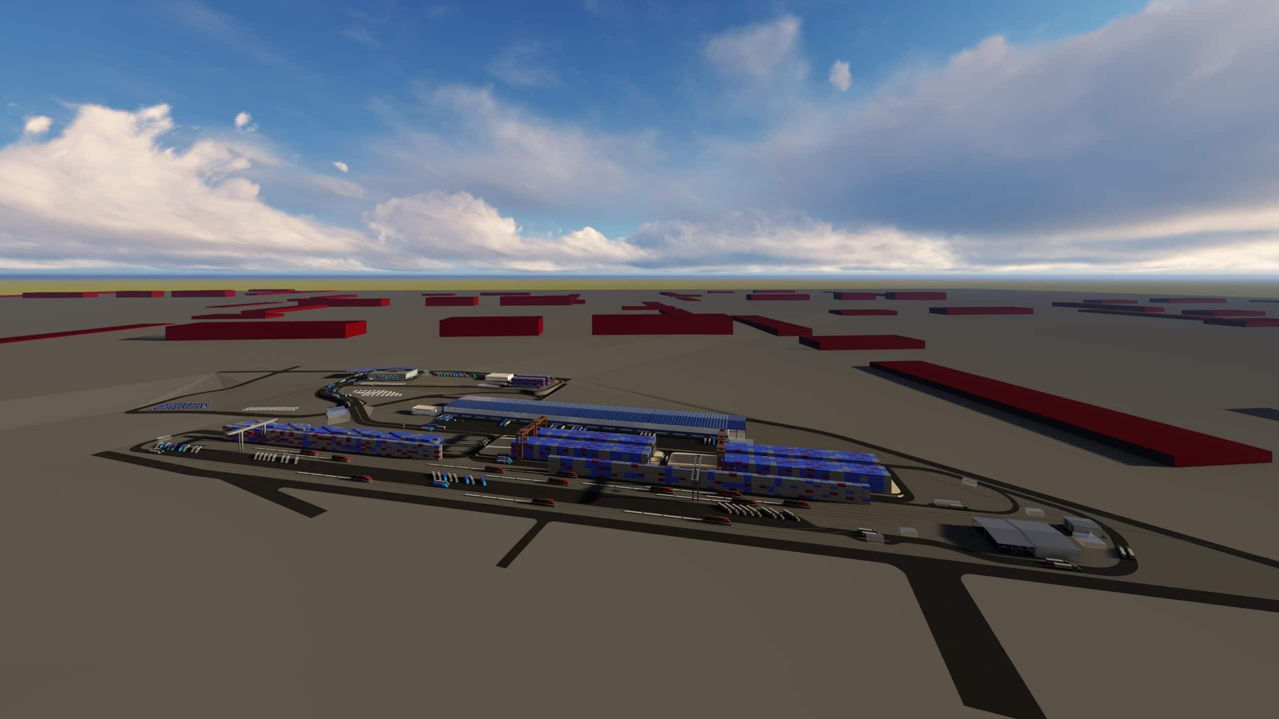 İNTERMODAL Lojestik Terminal