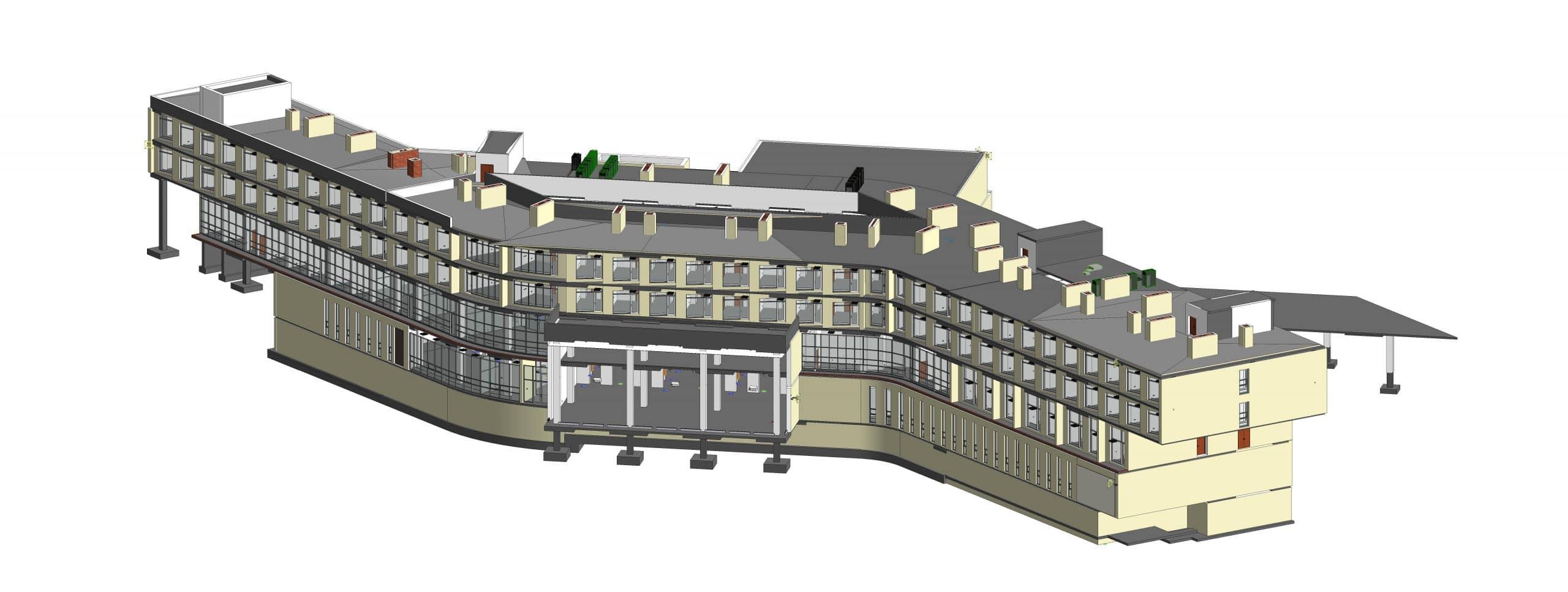 Nazarbayev Üniversitesi – Hotel Binası