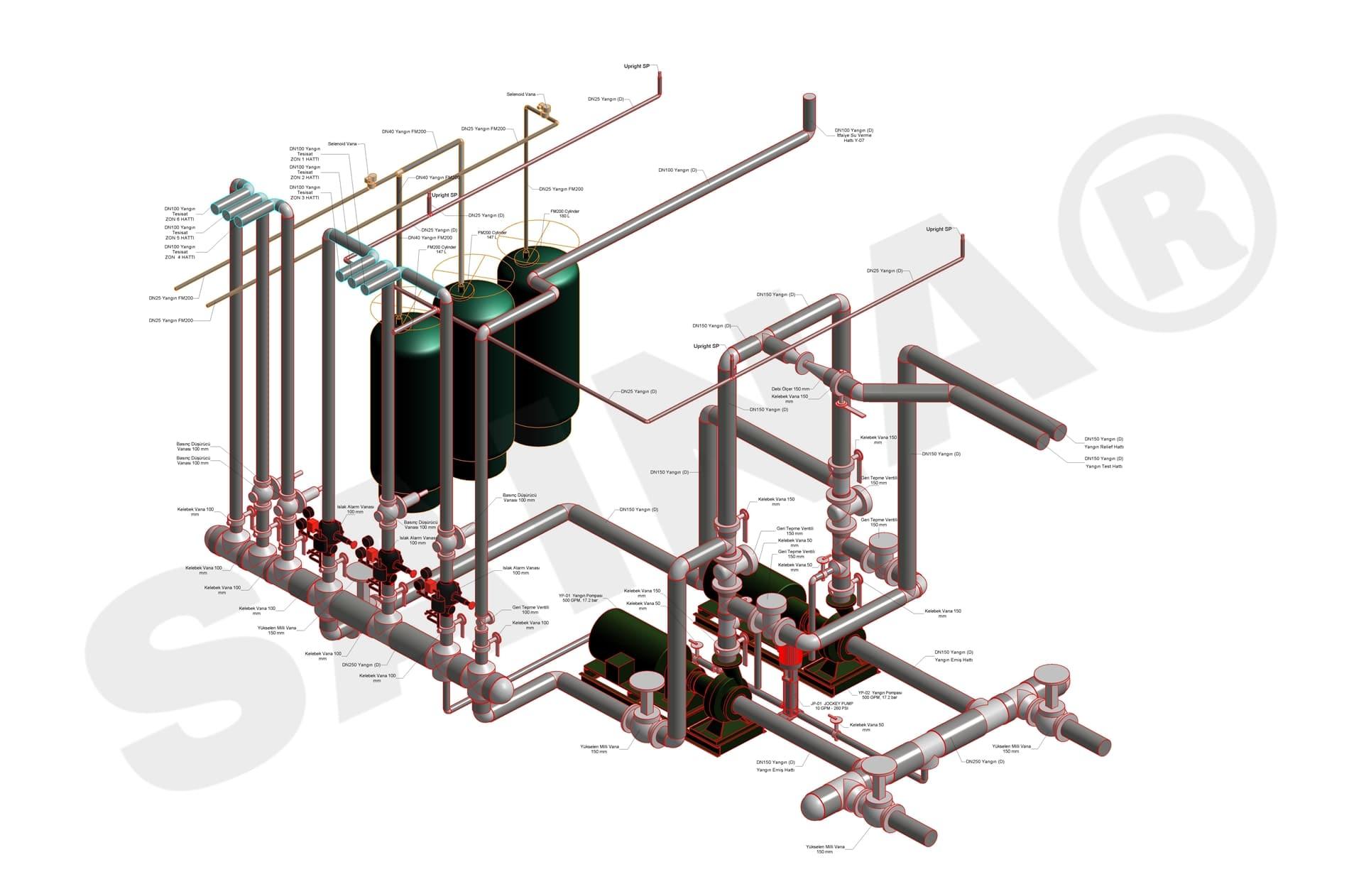 Revit-Mekanik-Proje-11